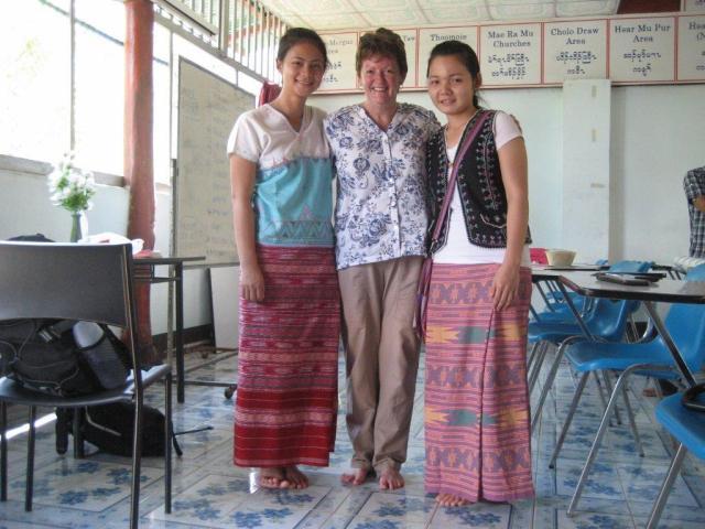 Rosemary at Mae La Refugee Camp