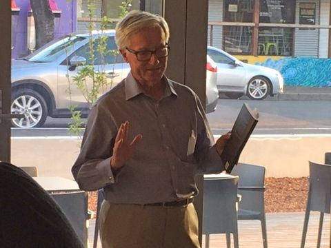 Fred Chaney at the Margaret River Book Launch