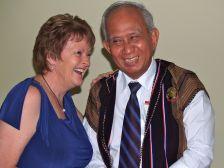 Rosemary with Paul Kyaw