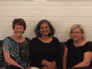 Rosemary with Caroline Wood and Karen MacDonald