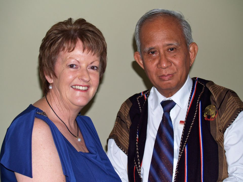 Rosemary with Paul Kyaw