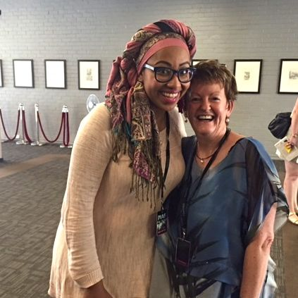 Rose with Yassmin Abdel-Magied