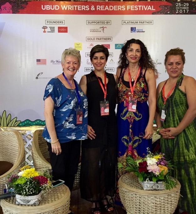 Ubud festival 2017 panel