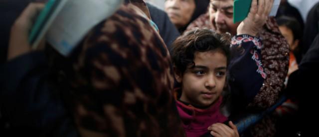 refugees fleeing - by Mohammed Salem