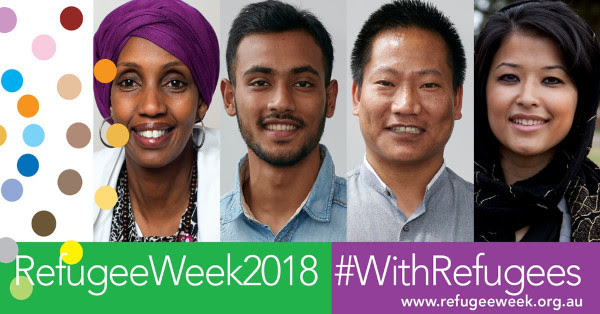 refugee week 2018 logo