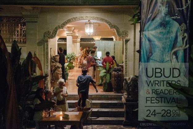 Ubud 2018 entrance