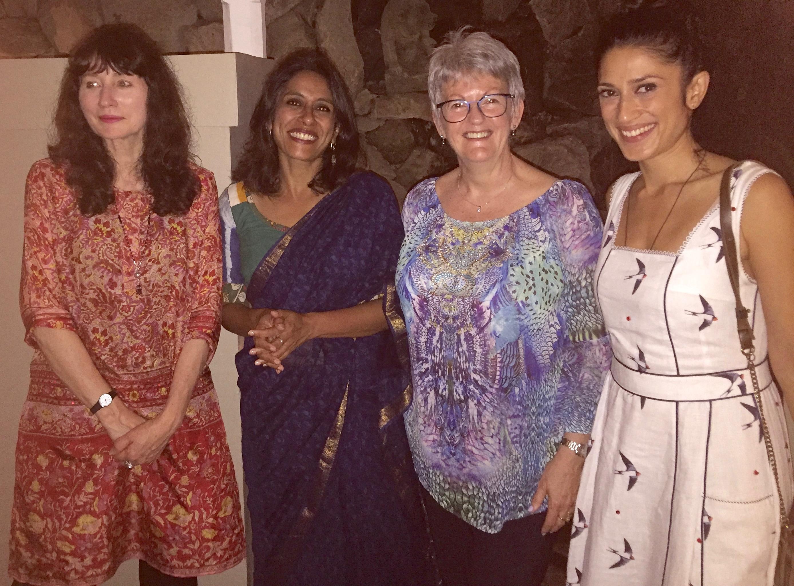 Ubud 2018 Gail Jones, Anurahda Roy, Rose, Fatima Bhutto