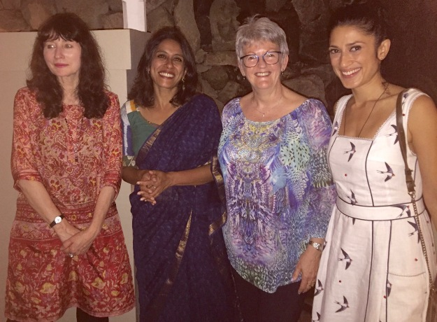 Ubud 2018 Gail Jones, Anurahda Roy, Rose, Fatima Bhutto