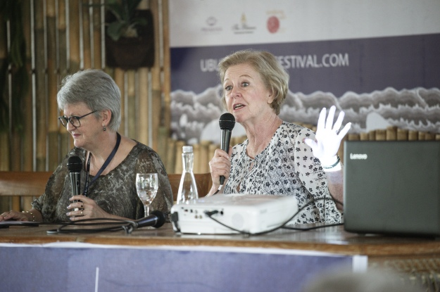 Ubud 2018 Rose and Gillian Triggs