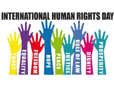 International human rights day logo