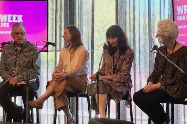 Alan Dodge, Amy Sackville, Gail Jones and Amanda Curtin