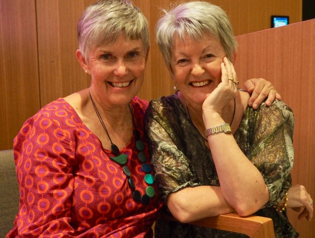Dianne Woolfer and Rosemary Sayer