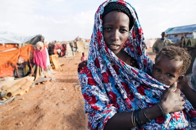 Oboz uchodzcow Jowle w Garowe , Somalia
